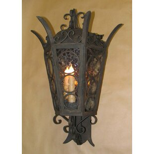 Omer 3-Light Outdoor Wall Lantern by Asto..