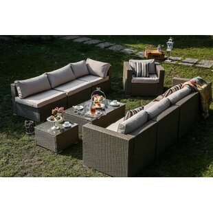 Webster 10 Piece Sofa Set with Cushions