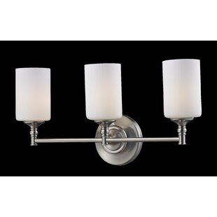 Check Prices Eichhorn 3-Light Vanity Light By Charlton Home
