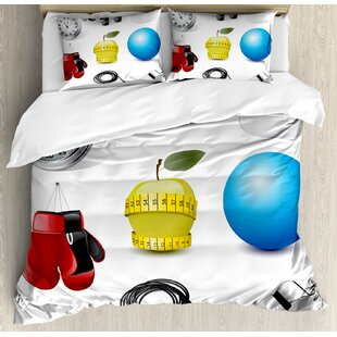 East Urban Home Realistic Vivid Workout Items Burning Calories Weight Loss Athletic Motivation