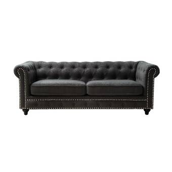 Amazing Canora Grey Sandridge Button Tufted Loveseat Wayfair Short Links Chair Design For Home Short Linksinfo