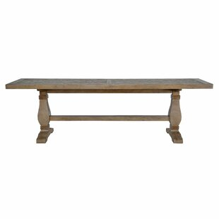 Gertrude Quincy Solid Wood Dining Table Lark Manor