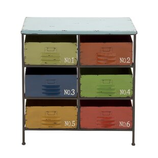 6 Drawer Wood Storage Chest by Cole & Grey