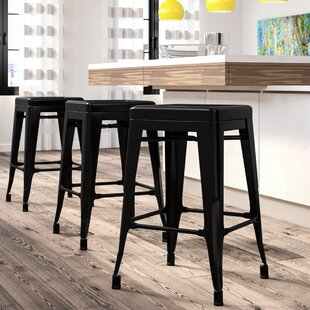 Blaney Short & Counter & Bar Stool (Set of 4) by Brayden Studio