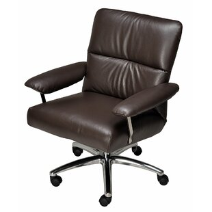 Elis Leather Office Chair By Lafer