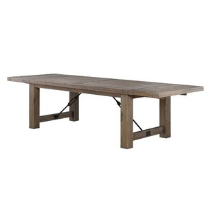 Middleham Solid Wood Dining Table Gracie Oaks