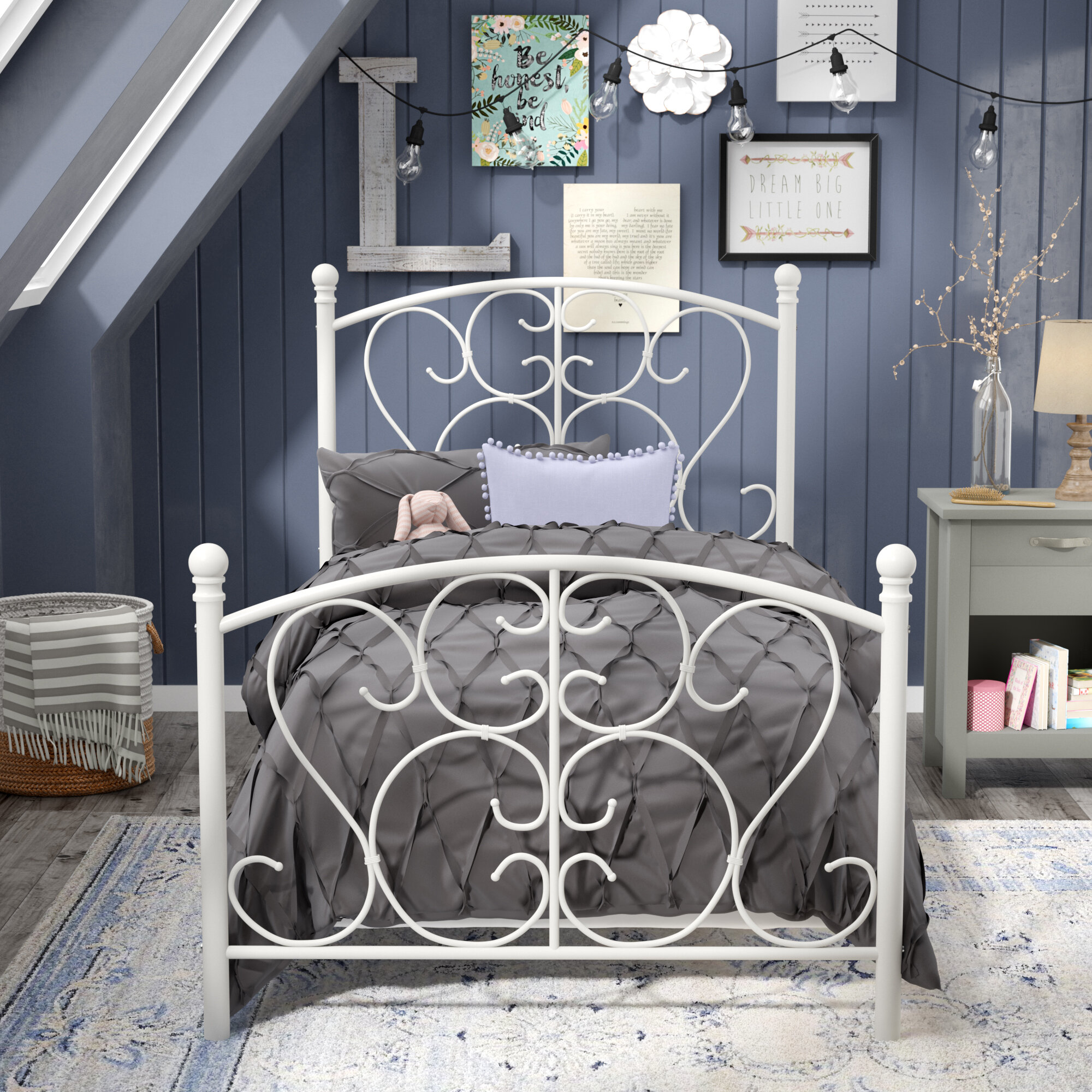 Picture of: Girls Twin Kids Beds You Ll Love In 2020 Wayfair