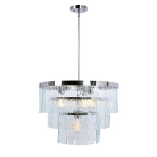 Orren Ellis Kenney 4-Light Novelty Chandelier