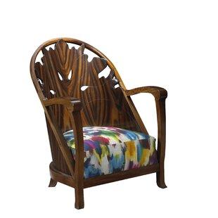 Everly Quinn Kepler Lady Fireside Arm Chair