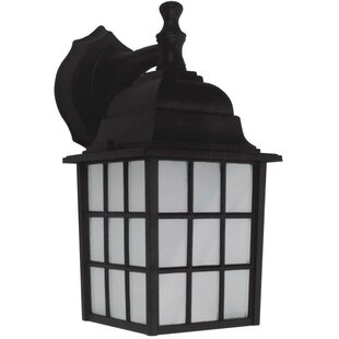 Gerald 1-Light Outdoor Wall Lantern By Whitfield Lighting Outdoor Lighting
