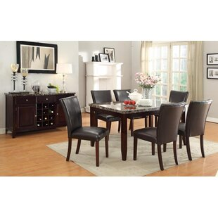 Heneghan 7 Piece Dining Set by Winston Porter