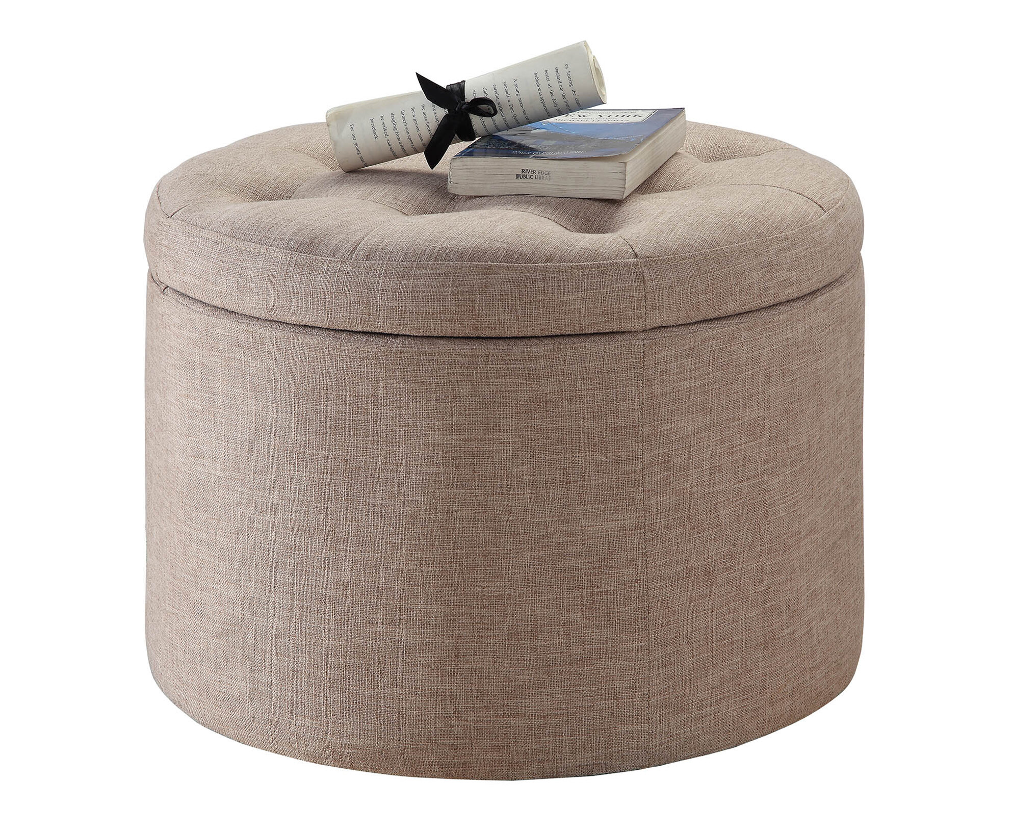 Admirable Stansell Tufted Storage Ottoman Gmtry Best Dining Table And Chair Ideas Images Gmtryco