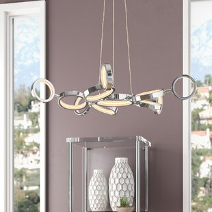 Price Check Kincannon 11-Light LED Geometric Chandelier By Orren Ellis