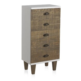 Comstock 5 Drawer Chest Of Drawers By Beachcrest Home