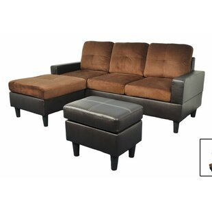 Harper Reversible Sectional by Beverly Fine Furniture Design