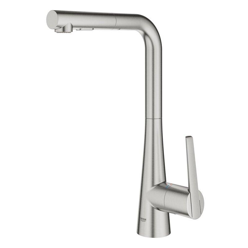 Grohe Ladylux L2 Single Handle Kitchen Faucet Wayfair Ca