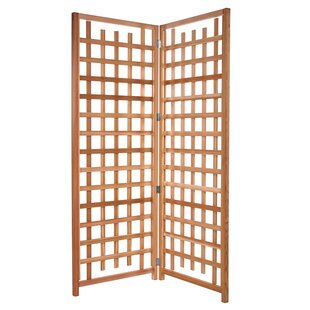 All Things Cedar 2 Piece Wood Trellis Set