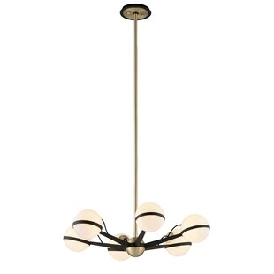 Brayden Studio Westerlund 6-Light Chandelier