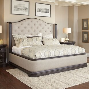 Canora Grey Ikin Upholstered Panel Bed