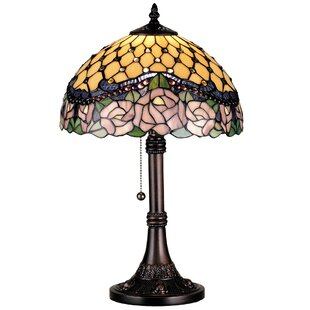 Meyda Tiffany Victorian Nouveau Jeweled Rose 19.5