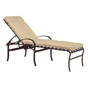 Palladian Reclining Chaise Lounge with Cushion