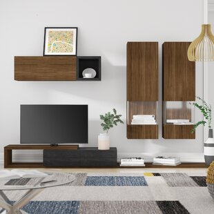 Temple Entertainment Unit For TVs Up To 60