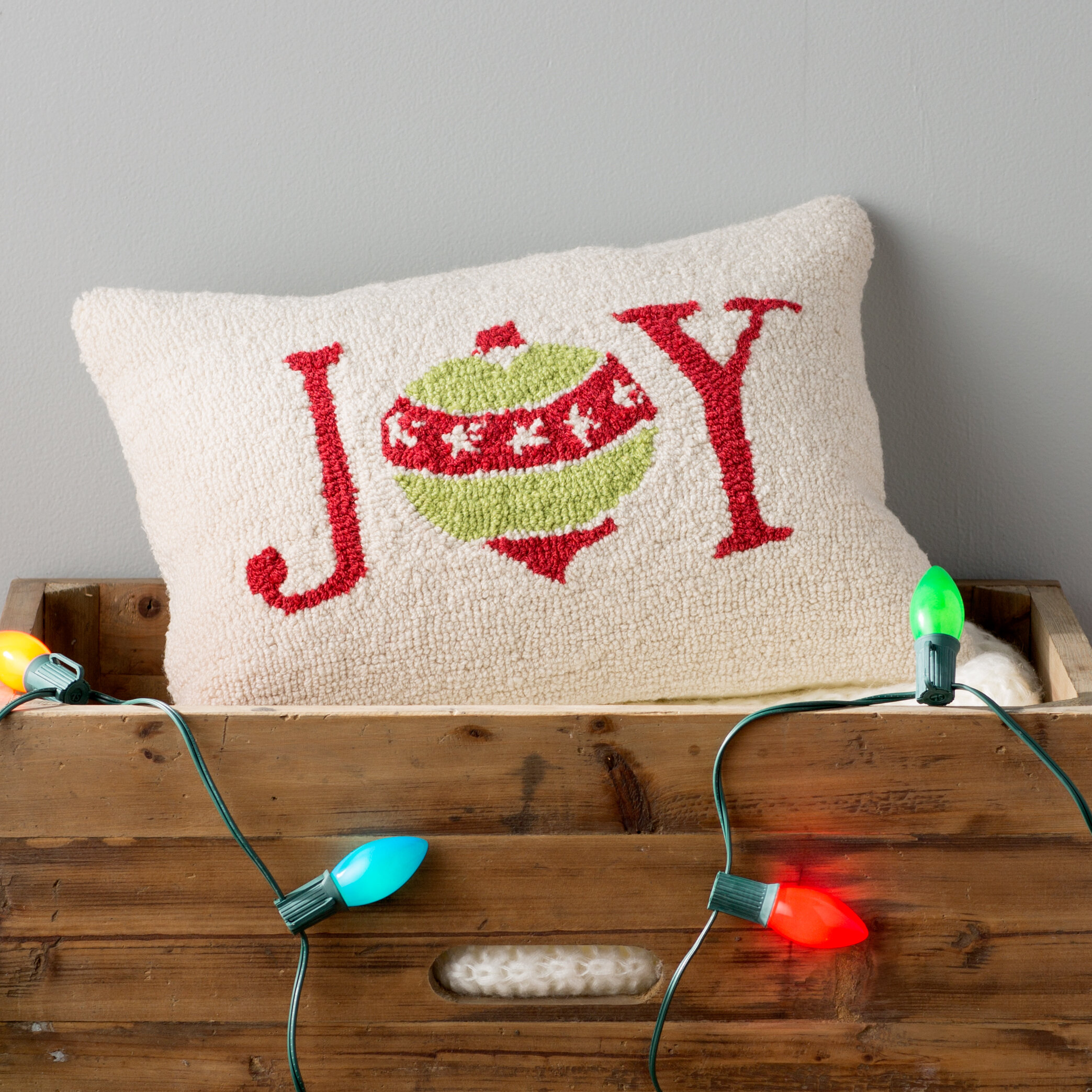 Three Posts Joy Winter Pillow Cover Reviews Wayfair