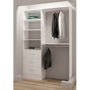 Inexpensive Demure Design 56.25W Closet System By TidySquares Inc.