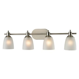 Affordable Freda 4-Light Vanity Light By Winston Porter