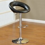 Sanjana Adjustable Height Swivel Bar Stool (Set of 2) by Ebern Designs
