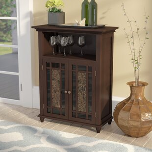 Caleb 2 Door Accent Cabinet by Alcott Hill