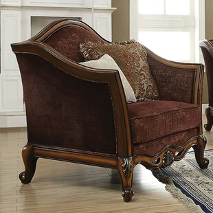 Sweitzer Arched Backrest Armchair with 2 ..