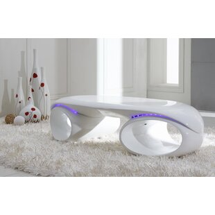 Orren Ellis Clower Fiberglass Coffee Table