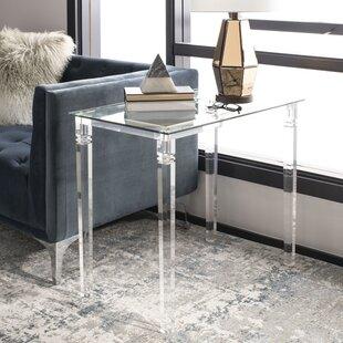Amelie Acrylic End Table