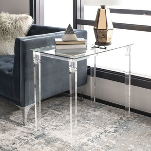 Corley Acrylic End Table