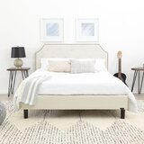 Finney Tufted Upholstered Platform Bed by Alcott Hill®