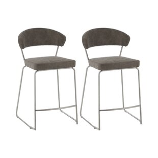 Isabeth 66cm Bar Stool (Set Of 2) By Wade Logan