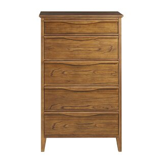 Bishop Tall 5 Drawer Standard Chest