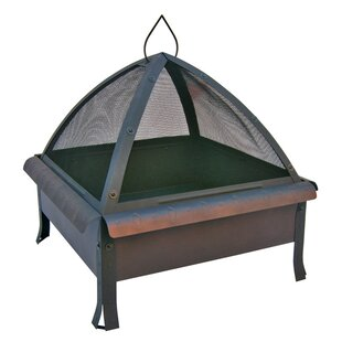 Landmann Tudor Steel Wood Burning Fire Pit