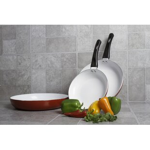 3-Piece Non-Stick Frying Pan Set