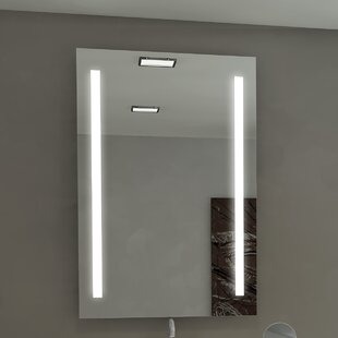 Orren Ellis Lency Modern Illuminated Bathroo..