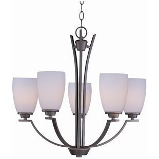Red Barrel Studio Barys 5-Light Shaded Chandelier