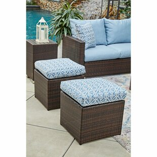 Mcmanis Ottoman with Cushion (Set of 2)