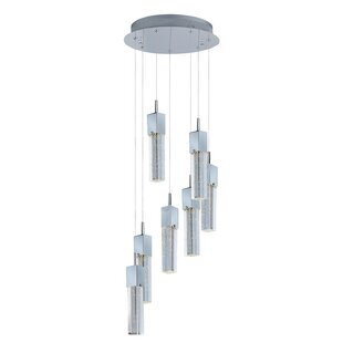 Diphda 7-Light LED Pendant by Orren Ellis
