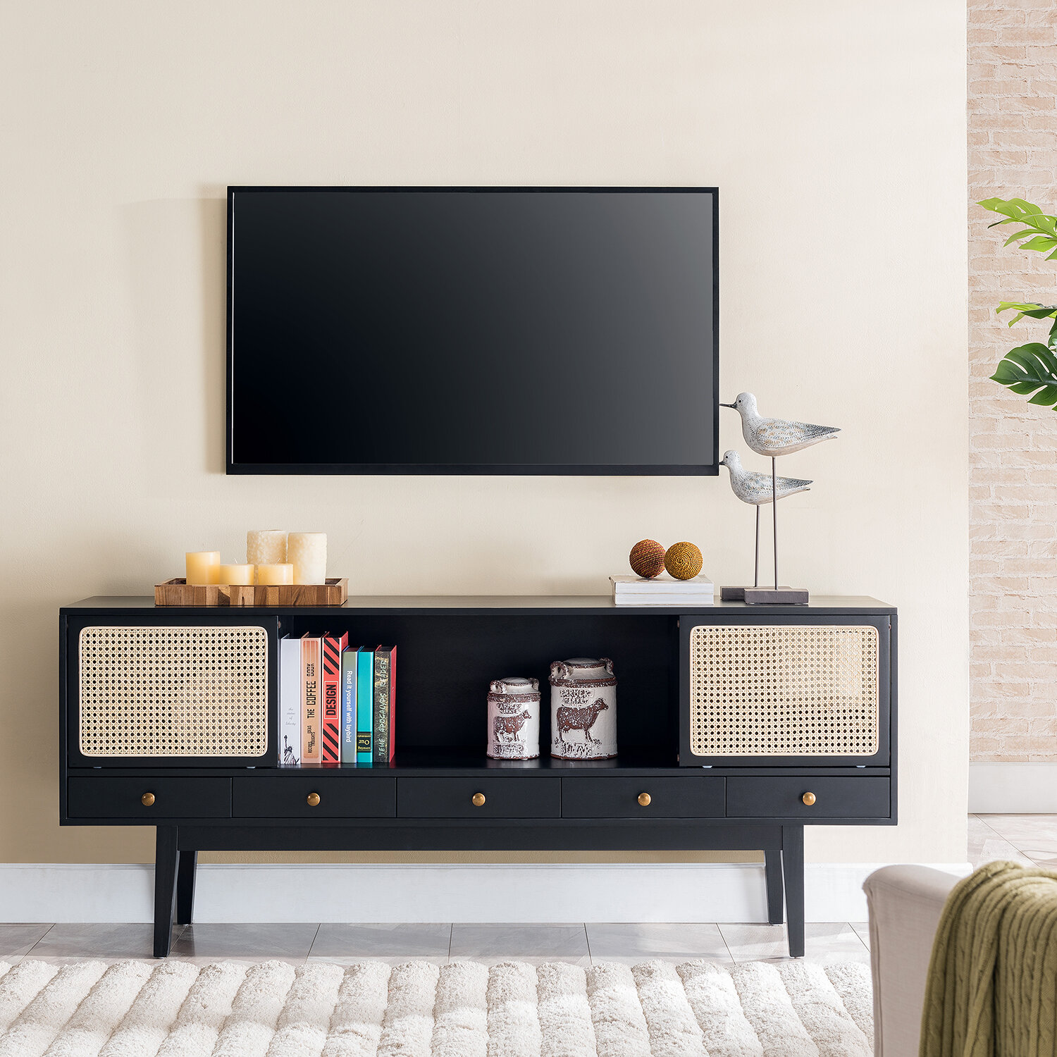 Dwight Tv Stand For Tvs Up To 78 Inches