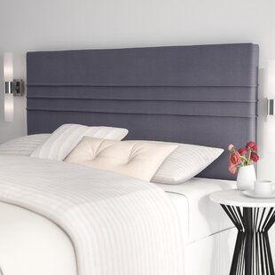 Amazonia Upholstered Panel Headboard by Latitude Run