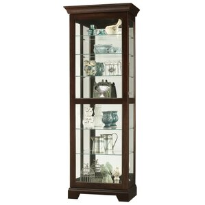 Martindale Ii Lighted Curio Cabinet by Howard Miller?