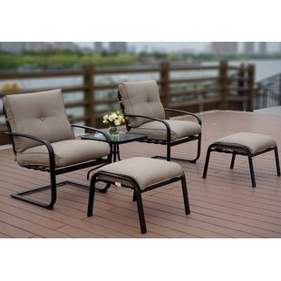 Sundorne 5 Piece 2 Person Seating Group with Cushions