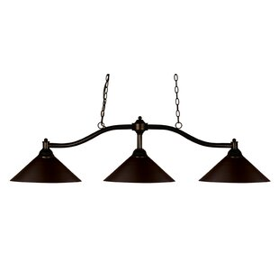 Fleur De Lis Living Beecroft 3-Light Pool Table Light