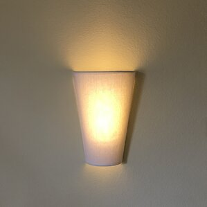 6light veined fabric wall sconce